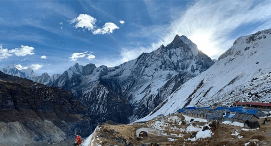 A comprehensive guide to Annapurna base camp Trek. It includes everything you need to know such as cost, permits, difficulty, itinerary, weather and so on.
