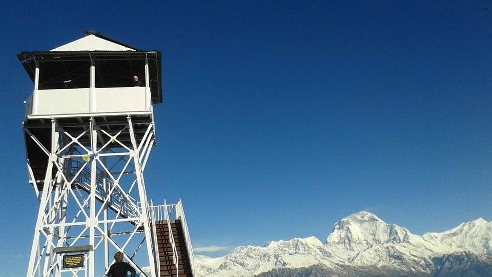 Ghorepai Poon Hill Trek Weather in different season guide.