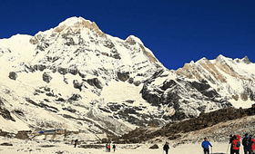 Annapurna Base Camp is also known asAnnapurna Sanctuary
