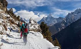 Everest trekking in Nepal