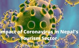 Impact of Coronavirus in Nepal's Tourism Sector